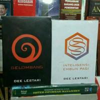 Peket Novel Supernova Gelombang & Intelegensi Embun Pagi (Dee Lestari)