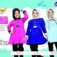 Little Mutif Girl 126 Size 6 dan 8 tahun/Hijab Fashion/Baju Muslim