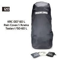Rain Cover / Jas Hujan Tas / Pelindung Tas 60 LTR Trekking AKRC 007/60