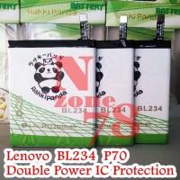 Baterai Lenovo Bl234 P70 P70t Rakkipanda Double Power Protection