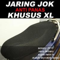 Sarung / Cover / Jaring Jok Motor HS Tebal Khusus Size XL