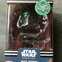 COSBABY DEATH TROOPER BLACK CHROME VER STAR WARS HOT TOYS ORIGINAL