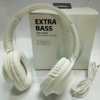 SONY HEADPHONES MDR-100AAP EXTRA BASS - WHITE