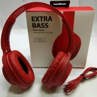 SONY HEADPHONES MDR-100AAP EXTRA BASS - CINNABAR RED