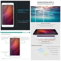 Xiaomi Redmi Note 4 Nillkin H Plus Pro Tempered Glass Anti Gores Kaca