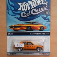 Hot Wheels Datsun Bluebird 510 Cool Classic Spectrafrost