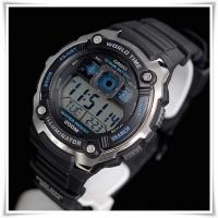 Jual jam tangan digital pria casio original garansi resmi 1 tahun AE 2000W 1AV (ayotaya) Murah
