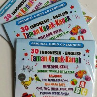 CD EKONOMIS ANAK ANAK 30 LAGU TK INDONESIA - ENGLISH
