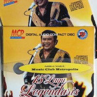 CD EKONOMIS RHOMA IRAMA - 15 LAGU LEGENDARIS