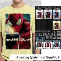 [DISKON] Kaos Amazing Spiderman Graphic 9 - Distro Ocean Seven