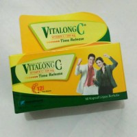 Vitalong C isi 30 tablet vitamin C 500 mg