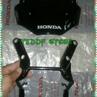 Jual Visor Windshield & Braket Dudukan Honda Tiger & Mega Pro Original Ahm Murah