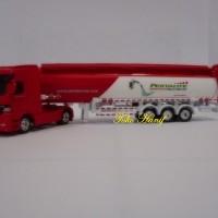 Diecast Miniatur Replika Truck Tanki Pertalite Pertamina