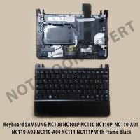 Keyboard SAMSUNG NC108 NC108P NC110 NC110P With Frame Black