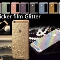 Garskin / Skin Glitter iPhone 5 6 7/ Samsung J5/ Oppo/ Xiaomi Note 3