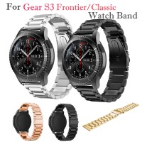 3 Pointer Metal Strap Band for Samsung Gear S3 / Asus Zenwatch 2, 22mm