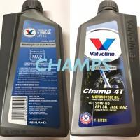 Oli Mesin Valvoline Champ 4T 20W/50 1 Liter