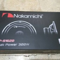 speaker coaxial nakamichi sp-s1620 / sp 1620
