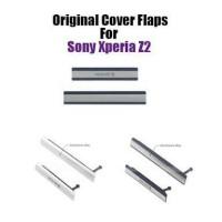 Tutup Set Port Usb / Micro Sd Sony Xperia Z2 Original