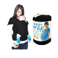 harga Gendongan Bayi Moby Wrap Black Hitam /gendongan Kangguru/baby Carrier Tokopedia.com