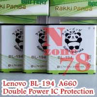 Battery Lenovo Bl194 A660 A288t A520 A780 A690 Double Power Protection