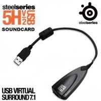 Steelseries 5H V2 Virtual Surround USB Soundcard Loose Pack