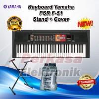 Keyboard Yamaha PSR F51 / PSR F 51 / PSR F-51 + Stand + Cover