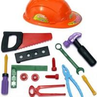 Jual Mainan Tukang Tukangan/Mainan Alat Alat Tukang/Arsitek Murah