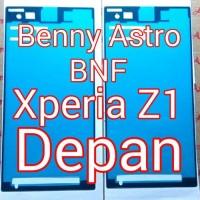 Adhesive, Lem Perekat, Sony Xperia Z1, C6902, C6903, Docomo, Depan