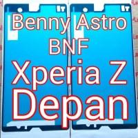 Adhesive, Lem Perekat, Sony Xperia Z, C6602, C6603, Docomo, Depan