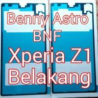 Adhesive, Lem Perekat, Sony Xperia Z1, C6902, C6903, Docomo, Belakang