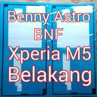 Adhesive, Lem Perekat, Sony Xperia M5 Aqua, E5603, E5653, Belakang