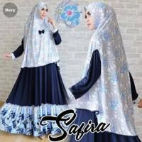 harga Gamis Syari Modis Safira Navy (Terbaru, Murah, Modern, Cantik) Tokopedia.com