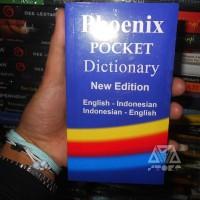 Kamus Phoenix Pocket Dictionary English, inggris - Indonesia - English