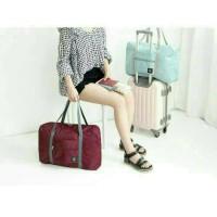 Jual folding travel carry bag / tas koper traveling lipat Murah