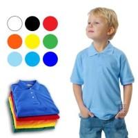 Basic Kid's Polo Shirt (Kaos Polos Berkerah Anak 0-5 Tahun)