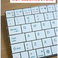 Keyboard Bluetooth Untuk Tablet PC iPad iOs Android PC Laptop