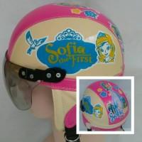 helm anak retro sofia