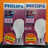 harga Lampu LED Philips 18 watt Bohlam Philip 18w Bulb LED 18watt Putih Tokopedia.com