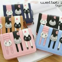 Dompet Wanita / Wallet Zee / Dompet Kucing 3 / cat Wallet 3