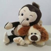 Boneka Anjing Istana Boneka/ Boneka Monyet Toys City/ Doll/ Kado