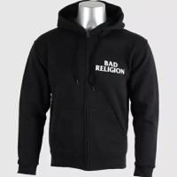 Hoodie Zipper Bad Religion Logo - DEALDO MERCH