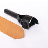 Heavy Duty Strap End Punch V shape / Leather Tools