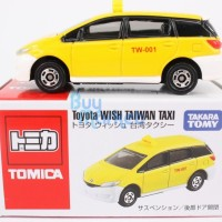 Diecast Tomica - Toyota Wish Taiwan Taxi