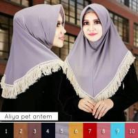 Jilbab / Hijab / Kerudung / Pashmina / Khimar / Bergo Aliya Pet Antem