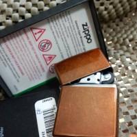Zippo Original 21184 TOFFEE ( Gratis Request Custom Grafir )