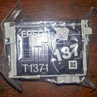 Tinta Epson 137 bawaan printer K100 K200 K300 Baru