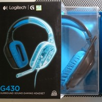 Logitech G430 , G 430 , G-430 Digital Gaming Headset