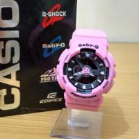 Jam Tangan G Shock Baby G BGA-110 Baby Pink