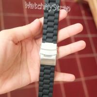 20mm 22mm rubber strap tali karet jam tangan seiko citizen orient dll